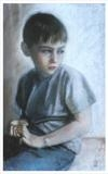 Daniel by chick mcgeehan, Drawing, Pastel on Paper