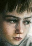 Daniel detail by chick mcgeehan, Drawing, Pastel on Paper