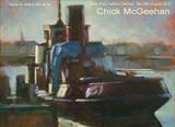Low Light on Tug Boat (detail) poster for current exhibition by chick mcgeehan, Painting, Oil on canvas