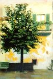 Memory of Barga by chick mcgeehan, Painting, Oil on canvas