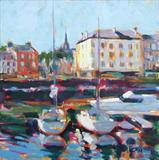 Morning Light Rothesay by chick mcgeehan, Painting, Oil on canvas
